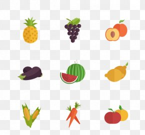 Vegetable And Fruit - Vegetable U852cu679c Cartoon Auglis PNG