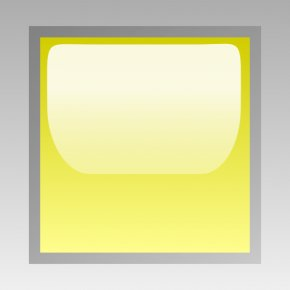 Yellow Square Cliparts - Square Light-emitting Diode Clip Art PNG