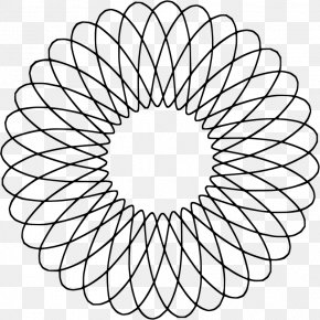 Gear Drawing Spirograph - Star Polygon The Black Angels Geometry Circle PNG
