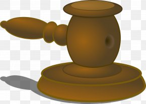 Judge Hammers - Judge Gavel Courtroom Clip Art PNG