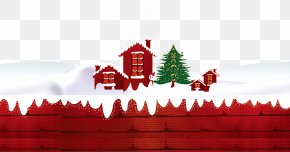 Free Christmas Snow House To Pull The Material - Santa Claus Christmas Ornament Christmas Tree PNG