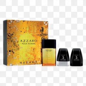 Fete Des Peres - Perfume Azzaro Pour Homme Eau De Toilette Deodorant Parfumerie PNG