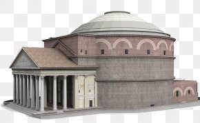 Pantheon Material - Pantheon Temple Of Hadrian Architecture Monument PNG