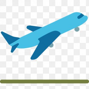 Airplane Flight Air Travel Emoji Clip Art PNG