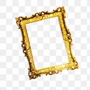 Gold Frame - Picture Frame Gold PNG