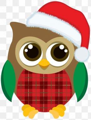 Owl - Christmas Graphics Owl Clip Art Christmas Christmas Day PNG