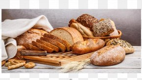 Bread - Bakery Bread English Muffin Food PNG