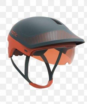 Black Orange Helmet - Bicycle Helmet Motorcycle Helmet Ski Helmet Equestrian Helmet PNG