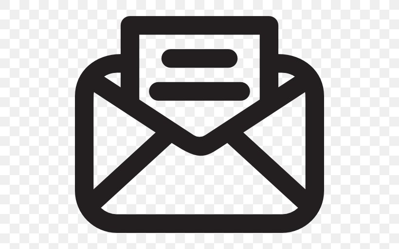 Vector Graphics Email Icon Design Clip Art Png 512x512px Email Black And White Brand Icon Design