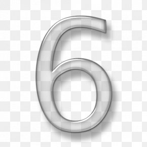 Number 6 - Number 3D Computer Graphics Icon PNG
