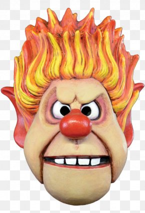 Mask - Heat Miser Snow Miser Costume Mask The Year Without A Santa Claus PNG