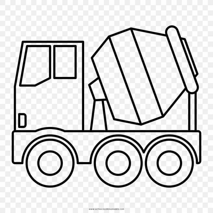 Coloring Book Tank Truck Drawing Cistern Png 1000x1000px