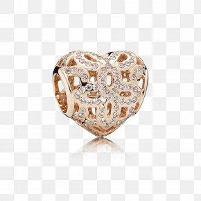 Pandora - Earring Charm Bracelet Pandora Cubic Zirconia Jewellery PNG
