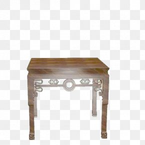 Table - Table Chinese Furniture Chair 3D Modeling PNG