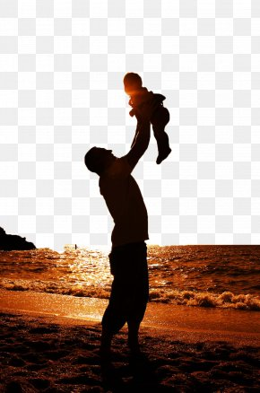 Happy Father And Child - Fathers Day Family Wallpaper PNG