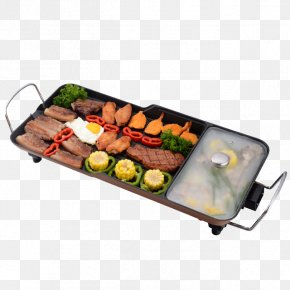 Multifunctional BBQ Hot Oven - Barbecue Teppanyaki Hot Pot Furnace Grilling PNG