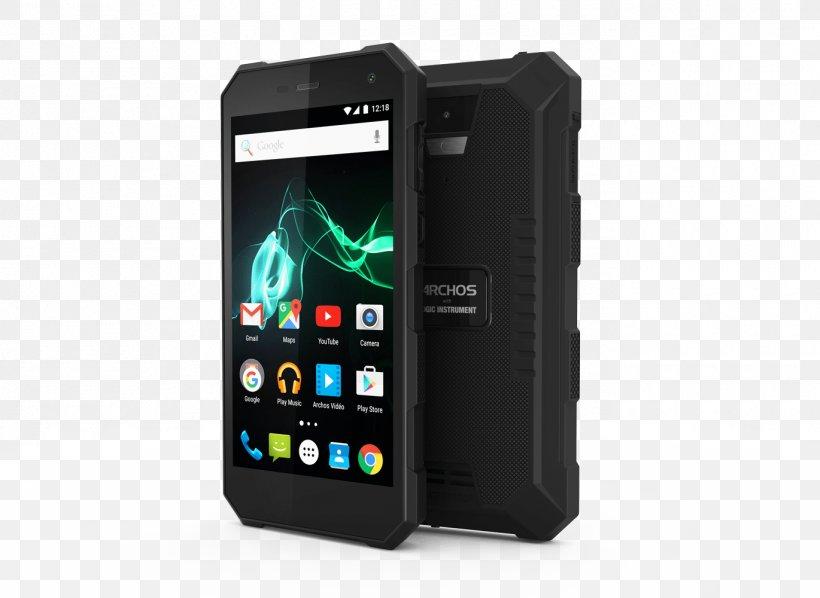 Archos 50 Saphir 4G 16GB Rugged UK SIM-free Smartphone, PNG, 1370x1000px, Archos, Android, Archos 50 Saphir, Archos 101 Internet Tablet, Cellular Network Download Free