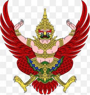 Thai Buddhism - Emblem Of Thailand Garuda Flag Of Thailand National Emblem PNG