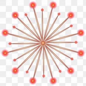 Firework Transparent Red Clip Art Image - Fireworks Clip Art PNG