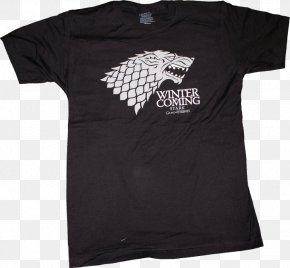 T-shirt - T-shirt You Win Or You Die Winter Is Coming Jon Snow A Game Of Thrones PNG