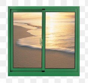 Green Side Windows - Window Aluminium Alloy Chip Log Glass PNG