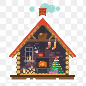 Christmas Cottage PNG
