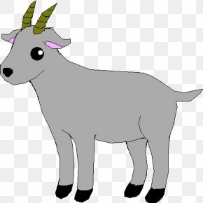 Goat - Clip Art Openclipart Vector Graphics Drawing Goat PNG