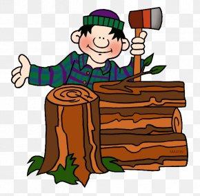 Lumberjack Cliparts - Paul Bunyan Lumberjack Clip Art PNG