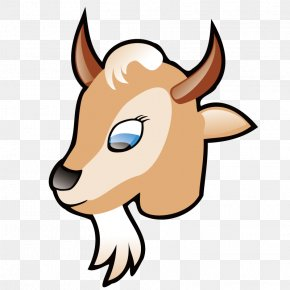 Long Beard Deer - Boer Goat Pygmy Goat Nigerian Dwarf Goat Black Bengal Goat Clip Art PNG