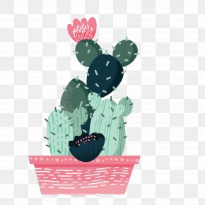 Living Room Potted Cactus - Cactaceae Euclidean Vector PNG