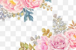 Flowers - Watercolor Painting Flower PNG
