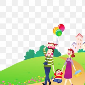 Family Trips - Family Child Wallpaper PNG