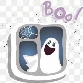 Halloween Cute Ghost Ghost - Ghost PNG