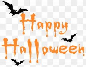 Happy Halloween Clipar Image - Halloween Computer File PNG