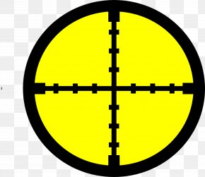 Target - Reticle Telescopic Sight Clip Art PNG