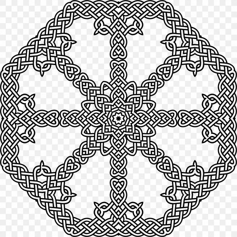 Celtic Knot Coloring Book Celtic Art Adult, PNG, 2290x2290px ...
