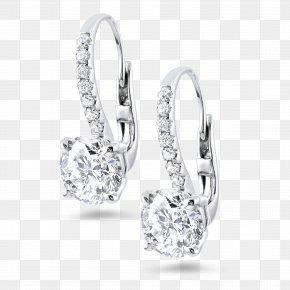 Earring - Earring Jewellery Carat Diamond Cut PNG