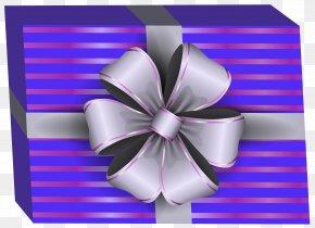Purple Gift Box Clip Art Image - Icon Clip Art PNG