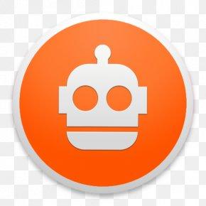 FileBot - Orange Smile Font PNG
