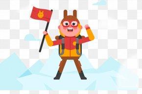 Squirrel Climbing - Mount Everest Rock Climbing Mountaineering PNG