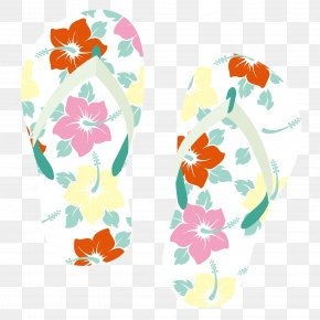 Pattern Sandals - Cartoon PNG