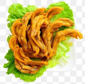 Hakka Salt-baked Duck Feet - Nanjing Salted Duck Hakka Cuisine French Fries PNG