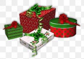 Christmas Gift Box - Santa Claus Christmas Tree Christmas Gift-bringer PNG