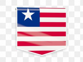 Square Label - Flag Of Liberia Flag Of Liberia Stock Photography PNG