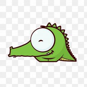 Baby Alligator - Vector Graphics Stock Illustration Image Clip Art PNG