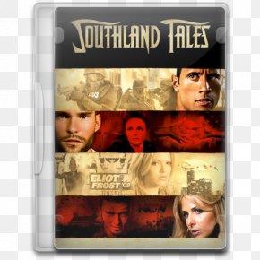 Dwayne Johnson - Dwayne Johnson Sarah Michelle Gellar Steven Poster Southland Tales Tangled Ever After PNG