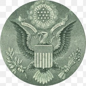 United States - United States One-dollar Bill Great Seal Of The United States United States Dollar Seal Of The President Of The United States PNG