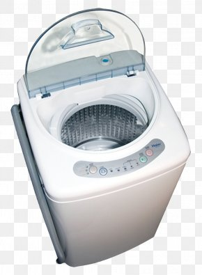 Washing Machine Top View - Washing Machine Combo Washer Dryer Haier Home Appliance Laundry PNG