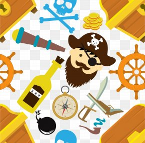 Pirate Equipment - Piracy Symbol Visual Design Elements And Principles Icon PNG