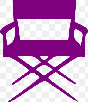Chair - Director's Chair Film Director Silhouette Clip Art PNG